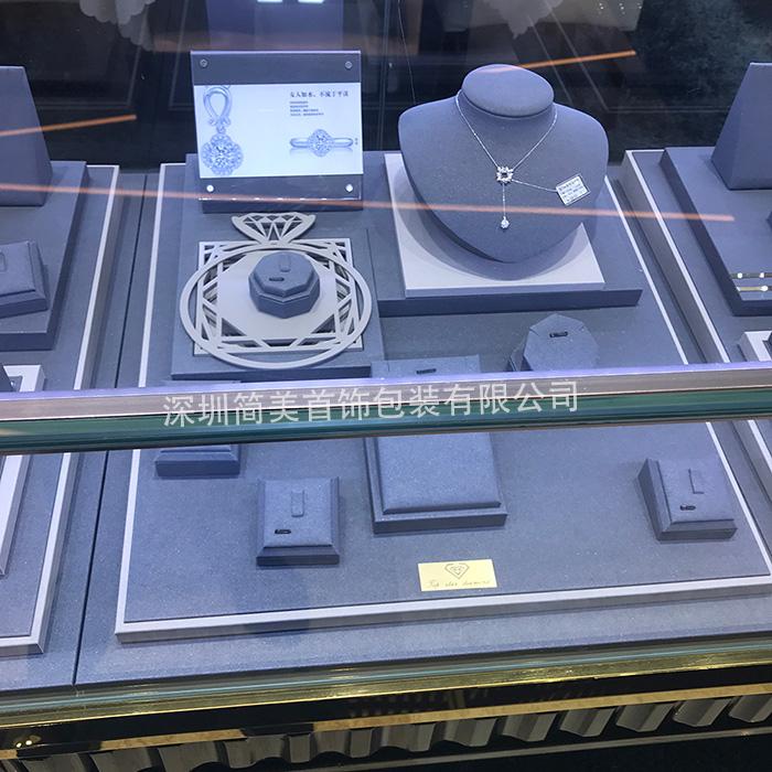 首饰陈列道具 K金钻石展示道具 首饰展示架 设计定制zsj-010